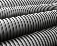 Plastic spiral pipes Royalty Free Stock Image