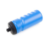 Plastic sport water bottle Royalty Free Stock Images