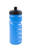 Plastic sport water bottle isolated Stock Photo