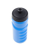 Plastic sport water bottle isolated Stock Images