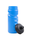 Plastic sport water bottle isolated Royalty Free Stock Photo