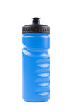 Plastic sport water bottle isolated Stock Image