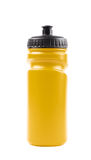 Plastic sport water bottle isolated Royalty Free Stock Photography