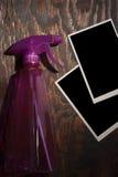 Plastic spray Stock Photo