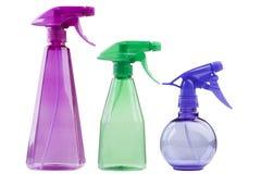 Plastic spray Royalty Free Stock Photos
