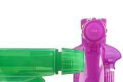 Plastic spray Royalty Free Stock Image