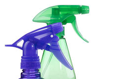 Plastic spray Royalty Free Stock Photo