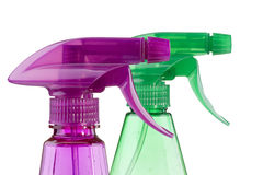 Plastic spray Royalty Free Stock Photography