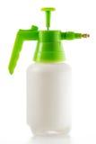 Plastic spray bottle isolated on white Royalty Free Stock Photos