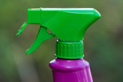Plastic spray dispenser Stock Photos