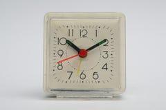 Plastic square alarm clock