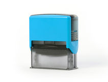 Plastic stamp isolated Royalty Free Stock Photo