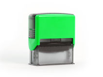 Plastic stamp Royalty Free Stock Photography