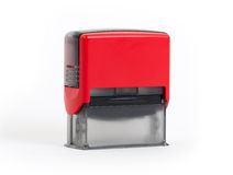 Plastic stamp isolated Stock Photography