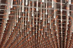 Plastic and Steel Structure Stock Photo