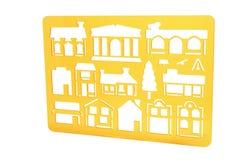 Plastic Stencil Royalty Free Stock Photo