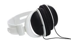 Plastic stereo headphone royalty free stock image