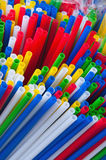 Plastic sticks Royalty Free Stock Images