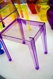 Plastic stoel Royalty-vrije Stock Afbeeldingen