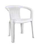 Plastic stoel Royalty-vrije Stock Fotografie