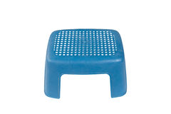 Plastic stoel Stock Foto