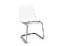 Plastic stoel Stock Foto's
