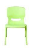 Plastic stoel Stock Afbeeldingen