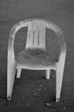 Plastic stoel Royalty-vrije Stock Afbeelding