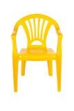 Plastic stol Fotografering för Bildbyråer