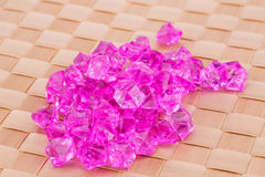 Plastic stones Stock Photos