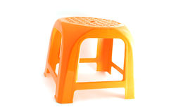 Plastic stool Stock Photo