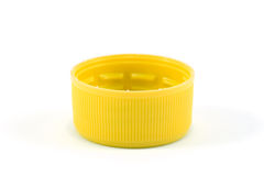 Plastic stopper top cover single stock photos