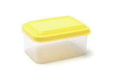 Plastic storage box Stock Photos