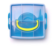 Plastic storage box Royalty Free Stock Photos