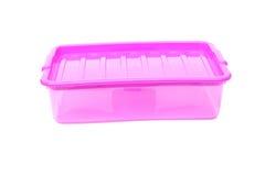 Plastic storage box stock photography