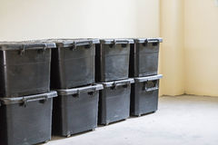 plastic storage case Stock Images
