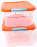 Plastic Storage Container Bin Royalty Free Stock Image