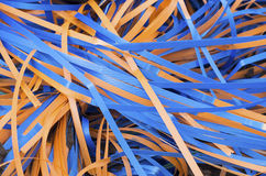 Plastic straps royalty free stock photo