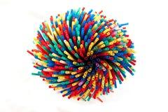 Plastic Straws Stock Photos