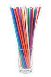 plastic straws Royalty Free Stock Photography