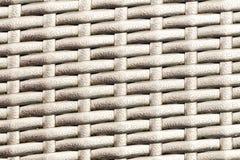 Plastic striped woven texture Stock Photos