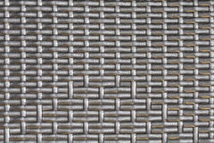 Plastic striped woven texture Royalty Free Stock Images