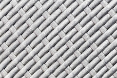 Plastic striped woven texture Stock Images