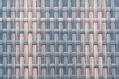 Plastic striped woven texture. Plastic woven texture brown. Background. Close up Royalty Free Stock Photo