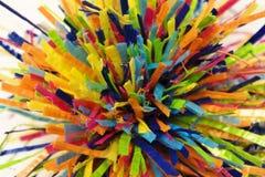 Plastic strouiteinden Stock Afbeeldingen