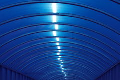 Plastic structure. Modern plastic roof structure Stock Photography