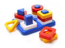 Plastic stuk speelgoed Stock Foto
