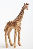 Plastic stuk speelgoed giraf Stock Afbeelding