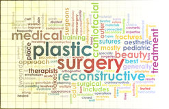 Plastic Surgery. As Before and After Results Stock Photography