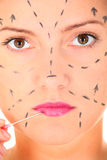 Plastic surgery Royalty Free Stock Image